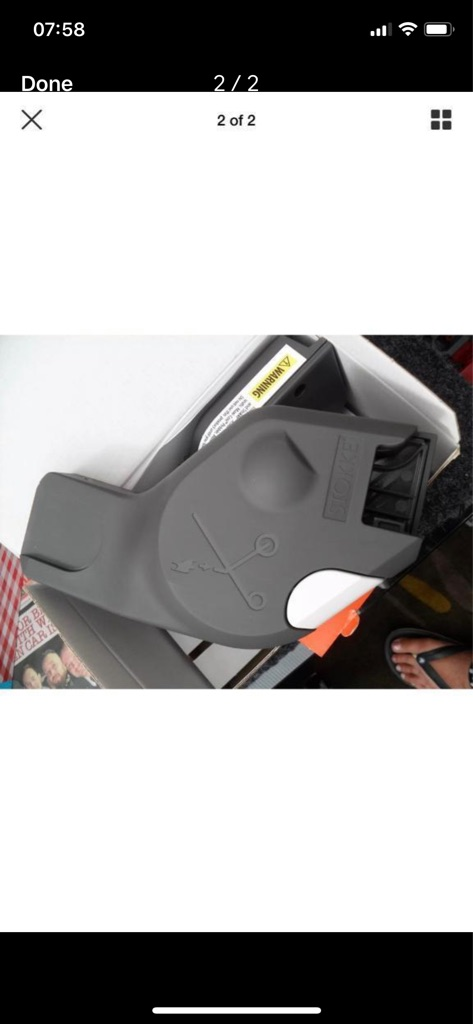 Stokke carseat adapters