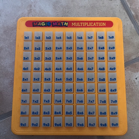 Magic maths multiplication