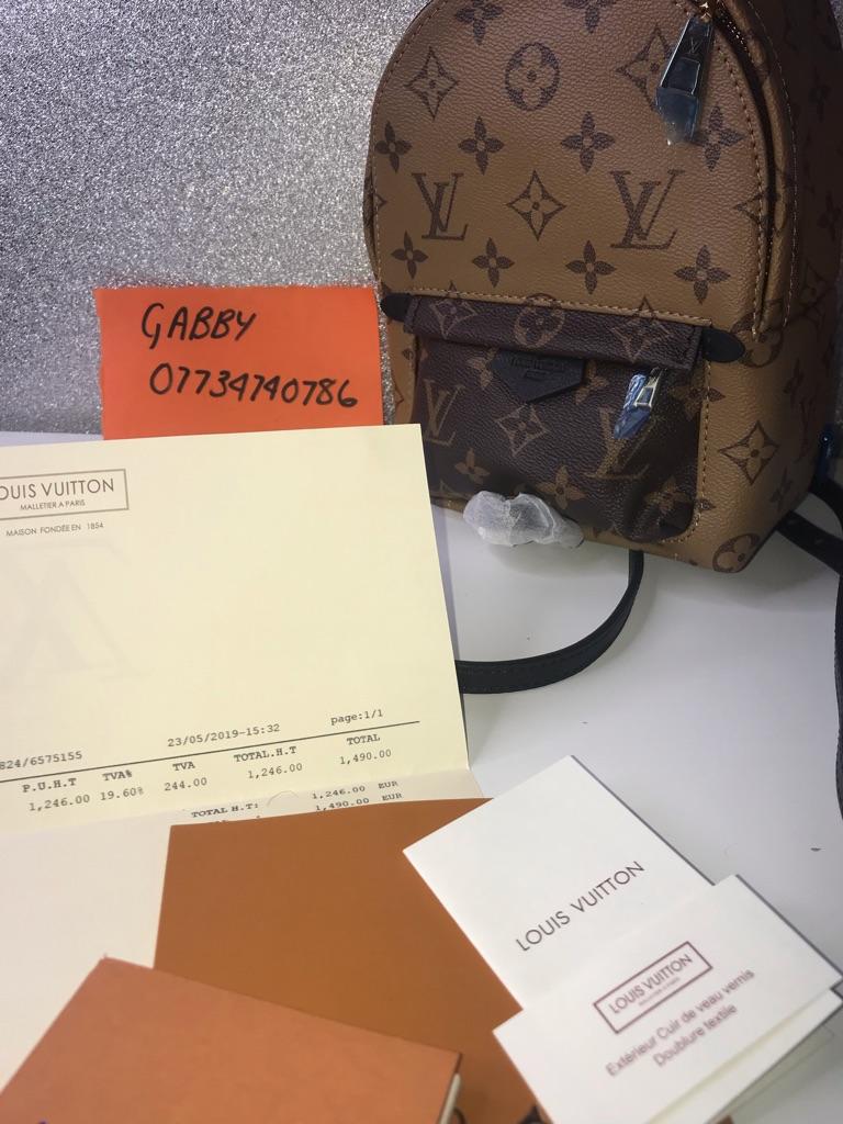 Louis Vuitton Palm Springs Reverse Mini Backpack