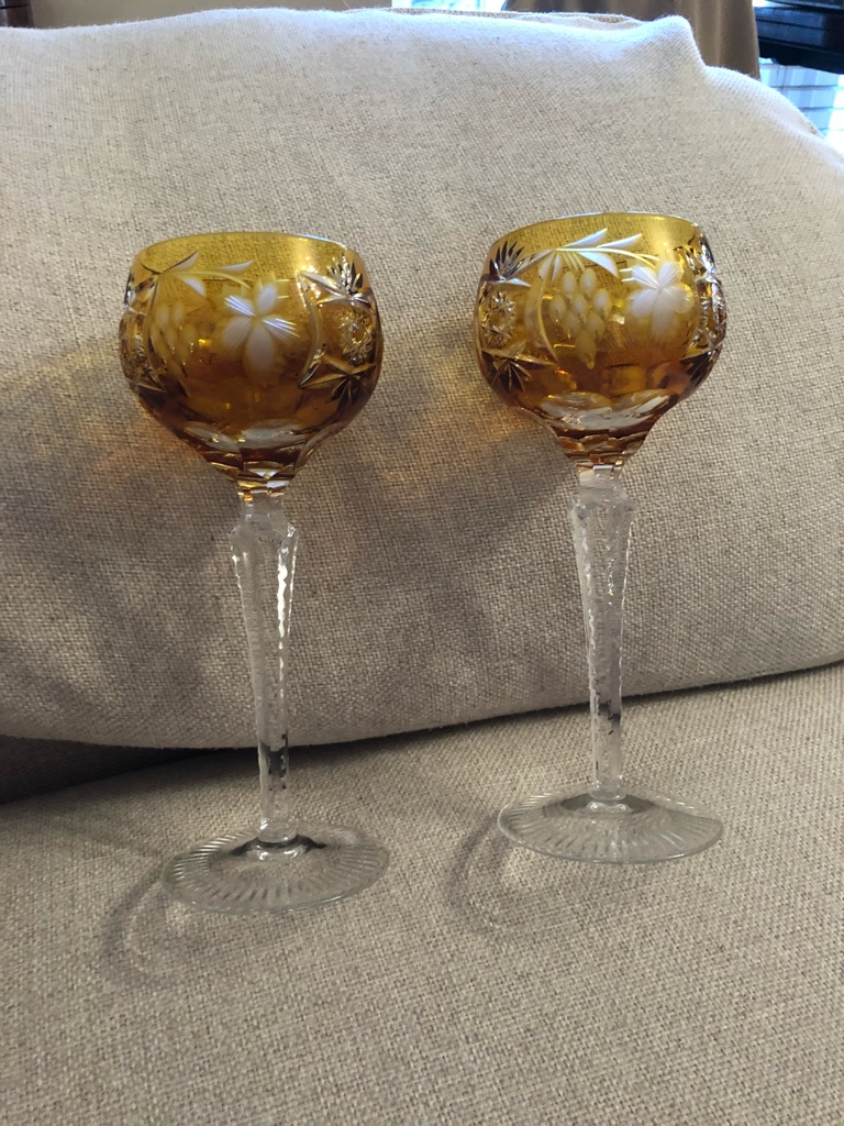NACHTMANN Crystal wine glasses