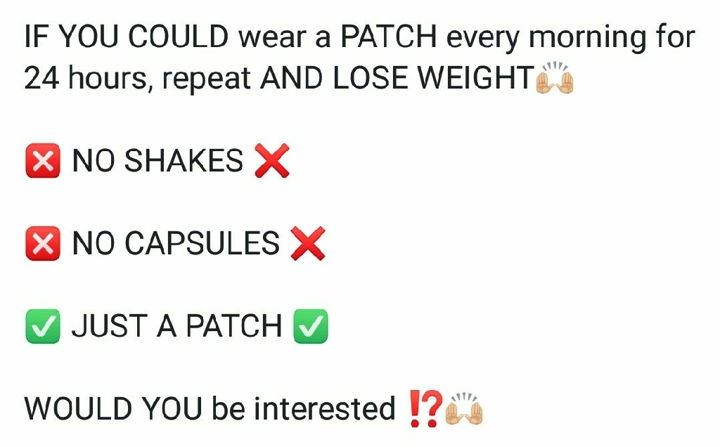 Weight loss patches by Thrive