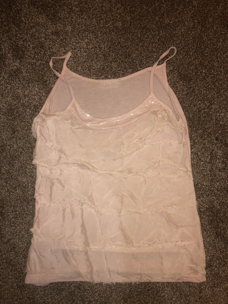 Party top, size S, pink