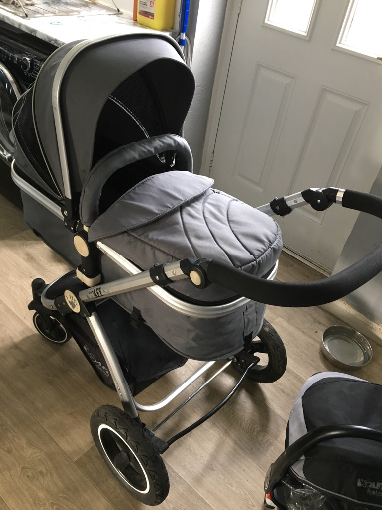 Isafe 3in1 travel system