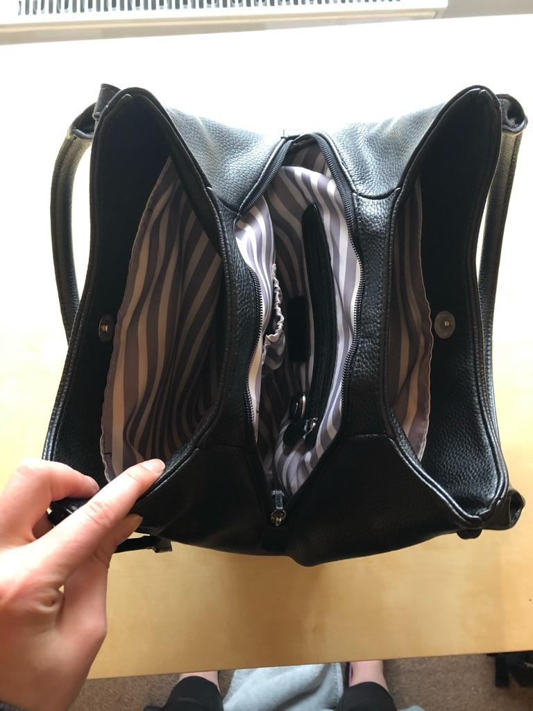 Jasper Conrad Black Handbag