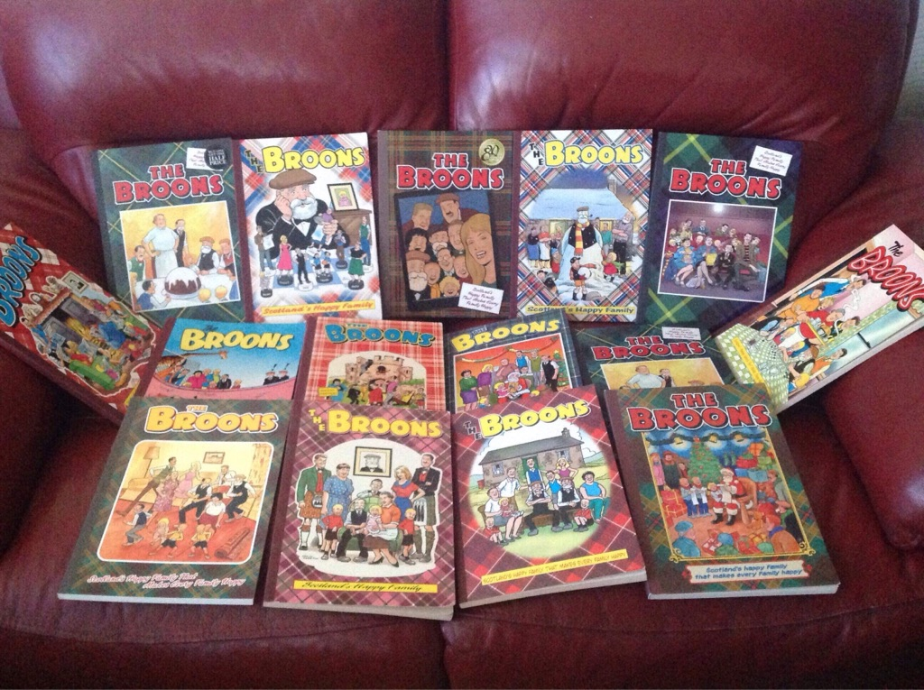 15 Broons books