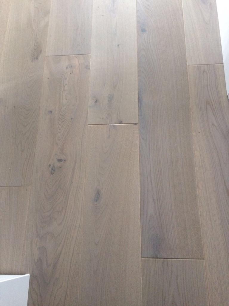 Engineered wooden flooring.