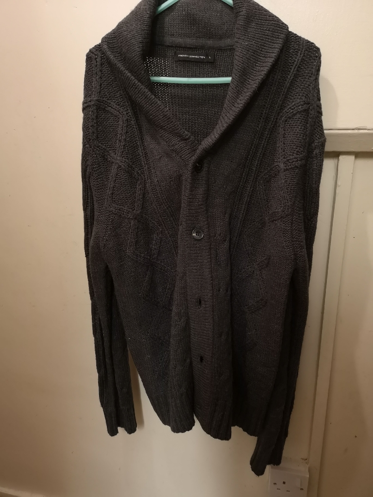 Mens French connections cardigan