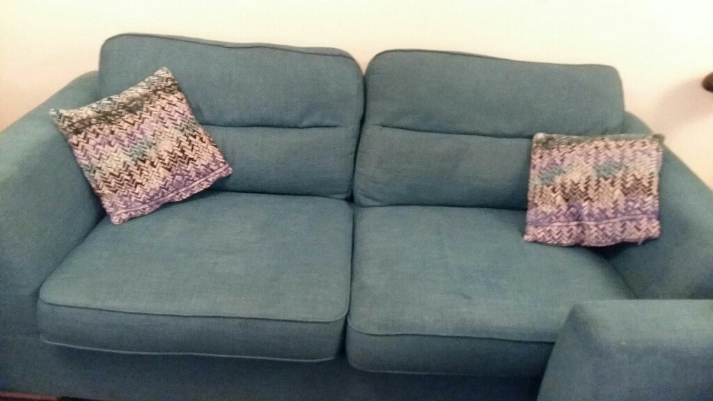 DFS 3 and 1 seater sofa