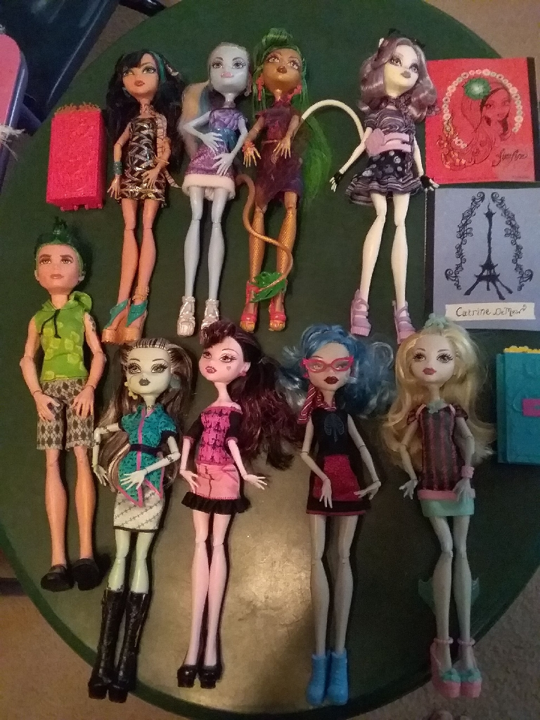 Scaris city of frights monster high dolls