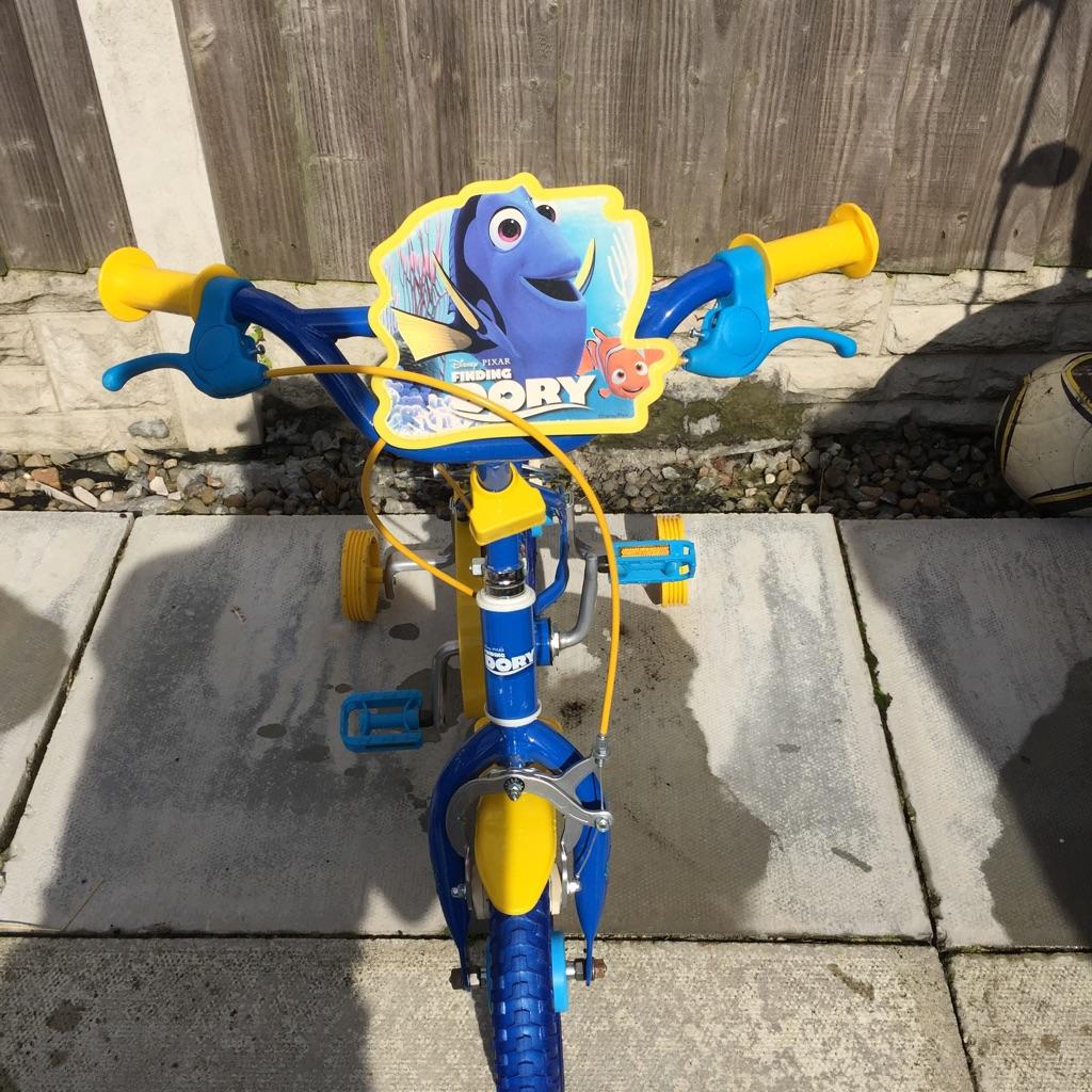 Finding dory bike