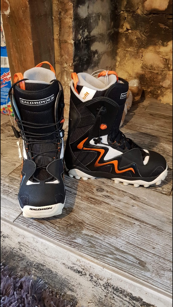 Salamon men's snowboard boots