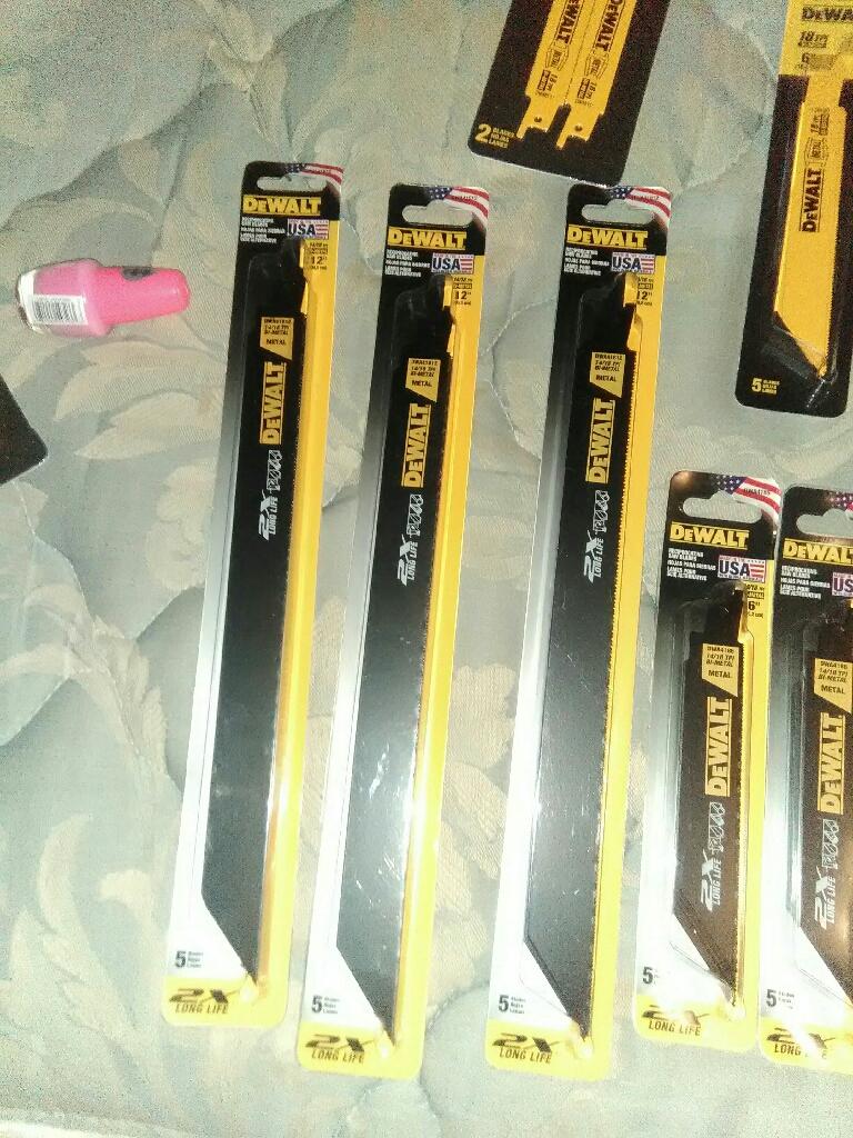 New dewalt blades