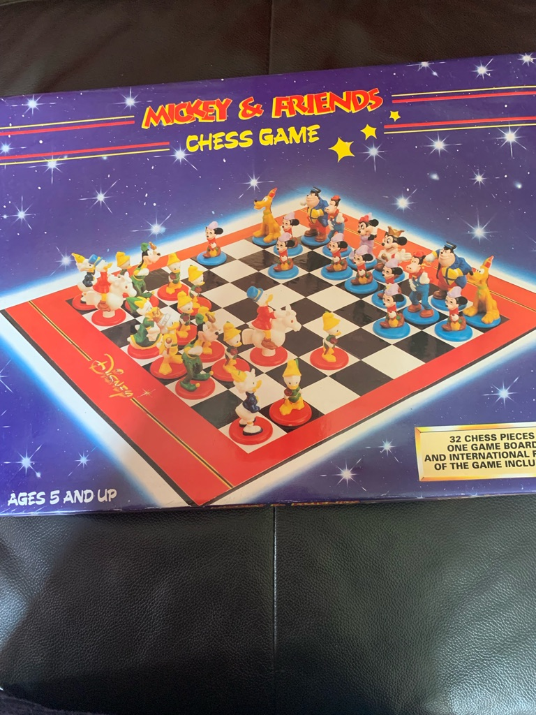 Mickey and friends chess game