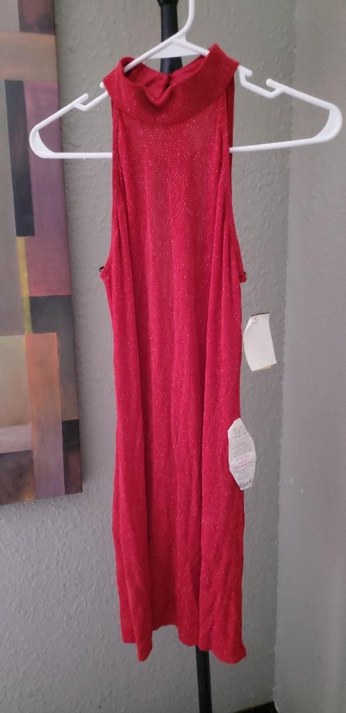 Red sparkling dress SIZE MEDIUM