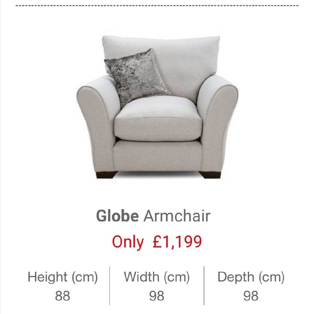 Globe Armchair Brand New!!!