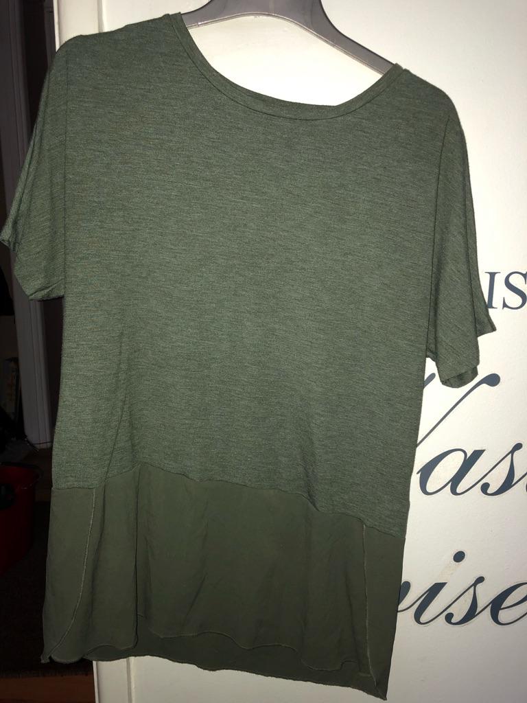 Ladies WAREHOUSE t-shirts RPP £18 Size UK 12 x 3