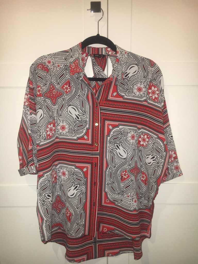 Ladies Tile Print Shirt