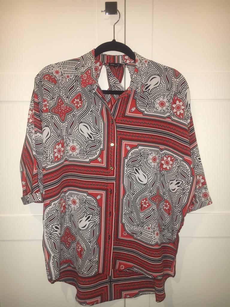 Ladies Tile Print Shirt