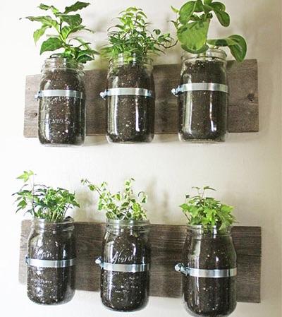 Handmade plant holder