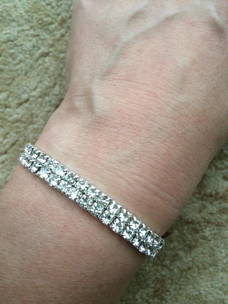 New Diamonte bracelet