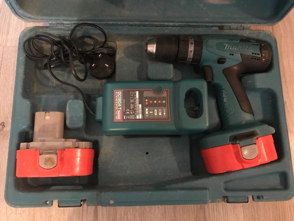 18V Makita Cordless/Battery Drill