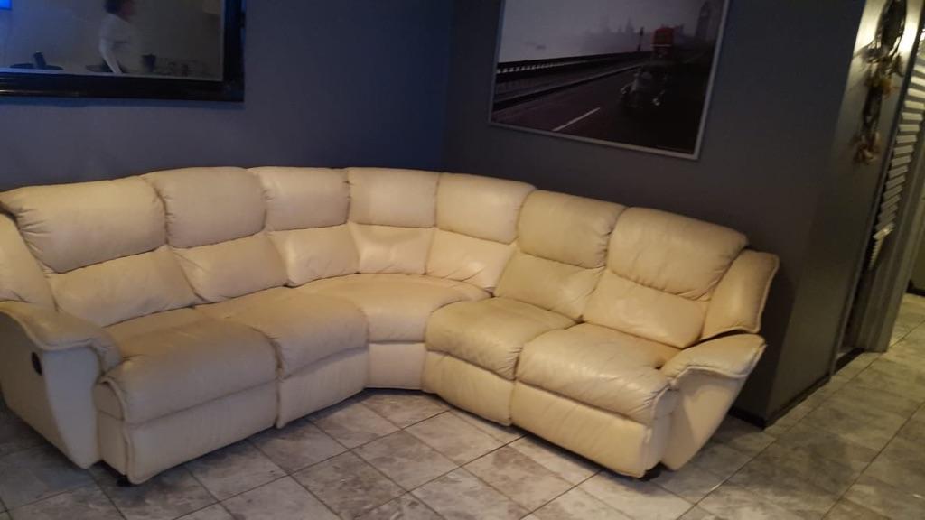 Corner sofa ends recline