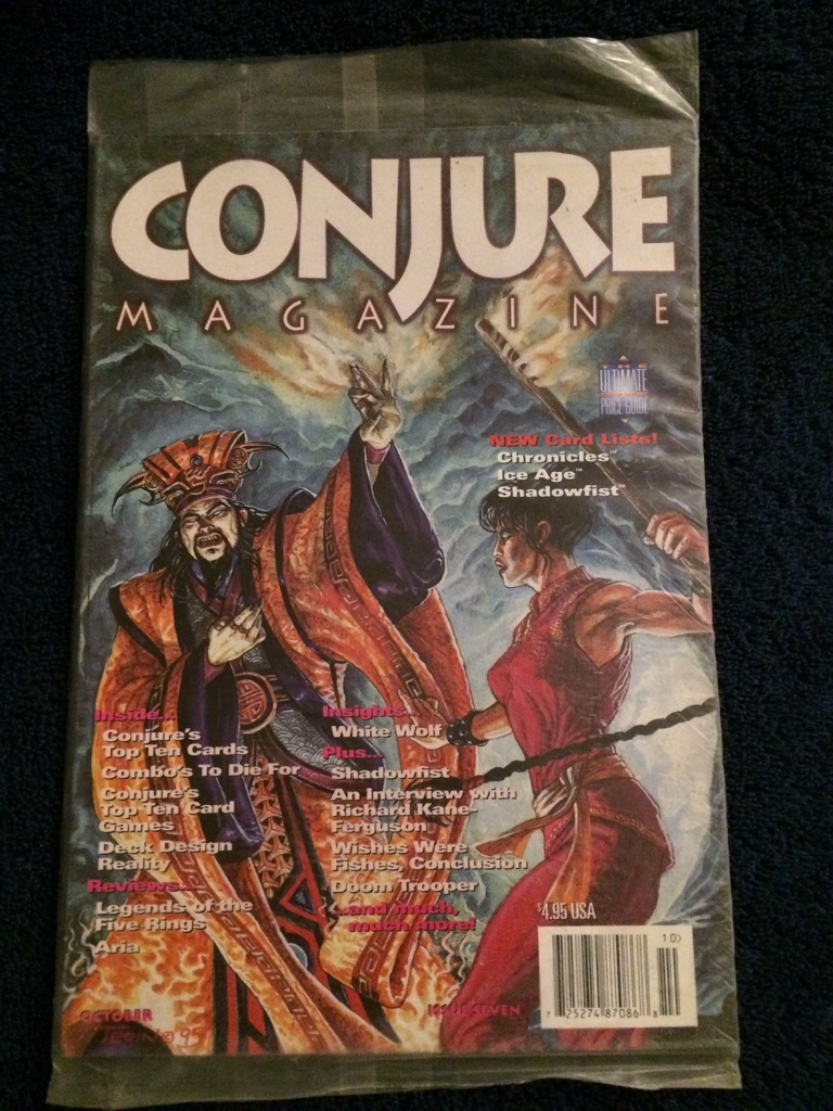 Conjure Magazine 🧙🏻♂️🗞🎲