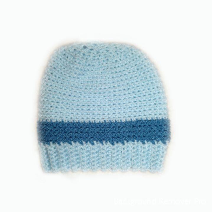 Handknitted baby boy Beanie Hats