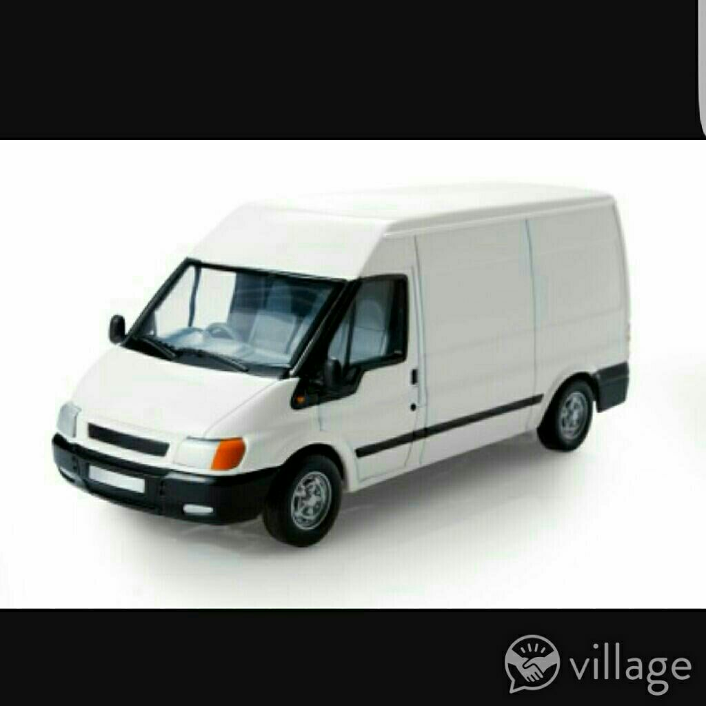 Removel items  i only drive van no man