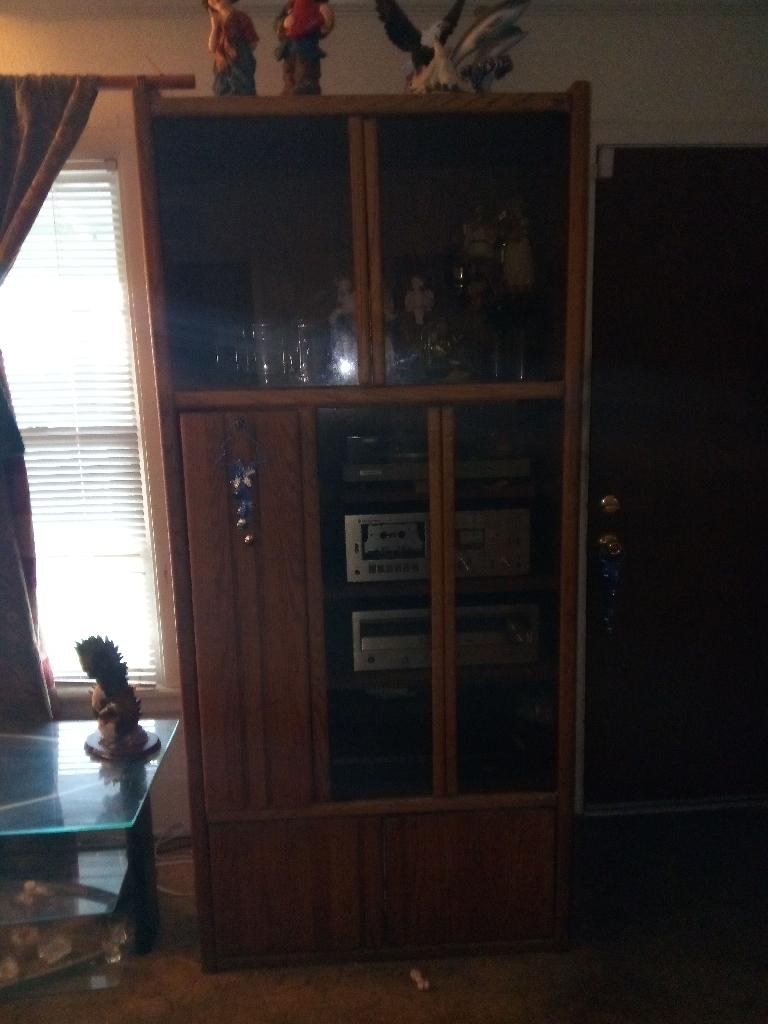 Tall shelf