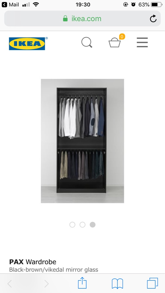 Ikea Pax wardrobes - 2 available