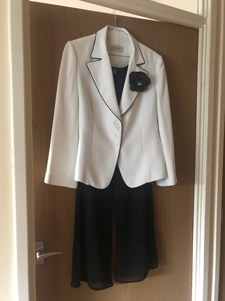 Evening jacket and trousers