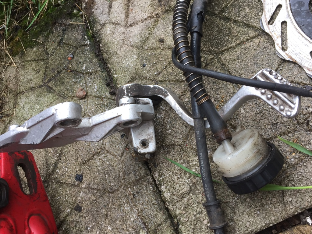 125cc bike parts