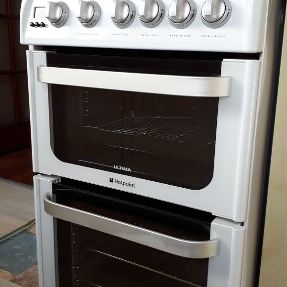 Hotpoint Ultima double gas cooker