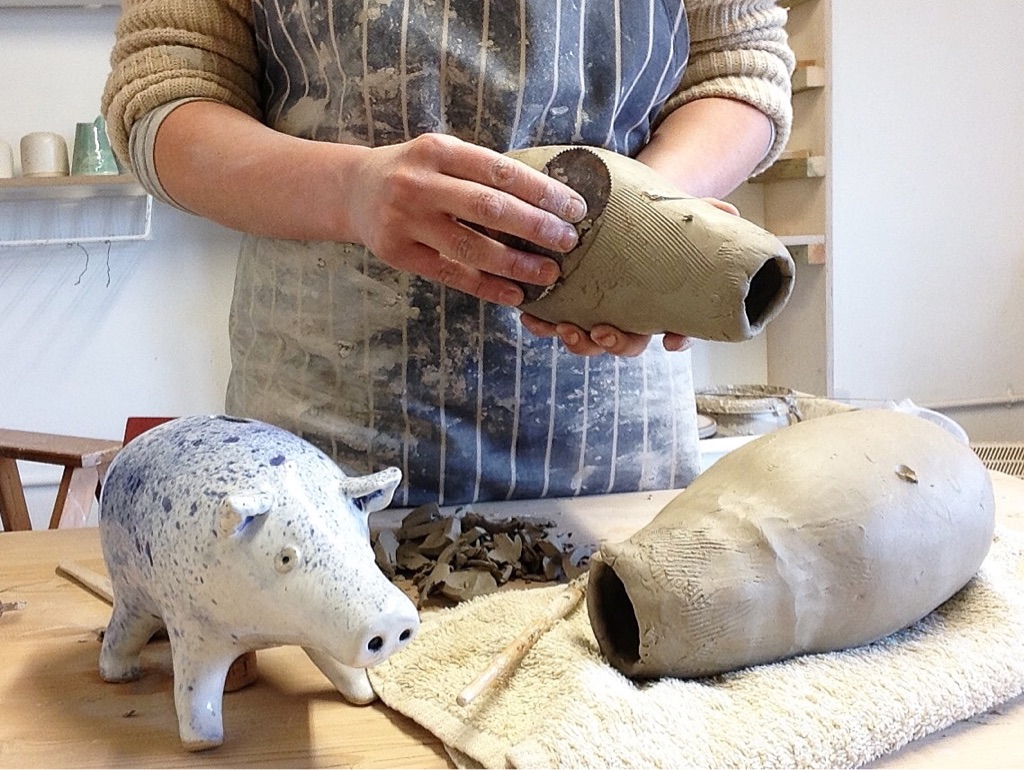 Wednesday evening pottery class - 10 weeks