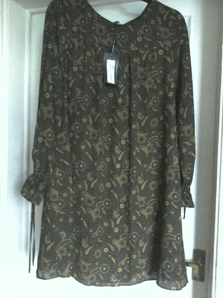 Marks and Spencer Paisley print dress size 16.