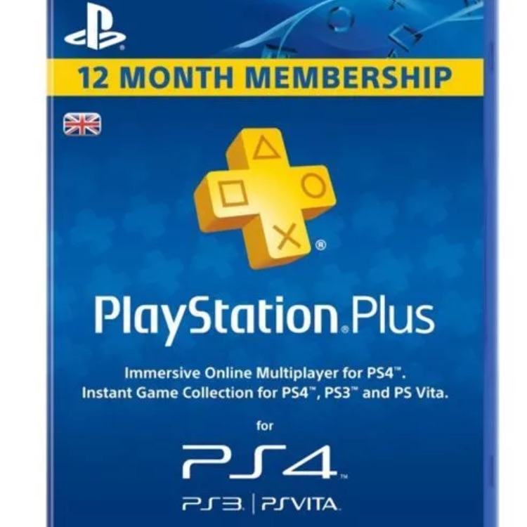 Psn plus 1 year accounts free delivery