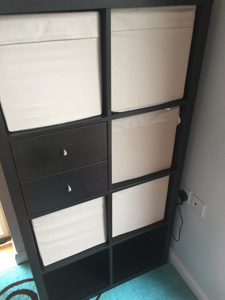 Shelving unit from IKEA (KALLAX)