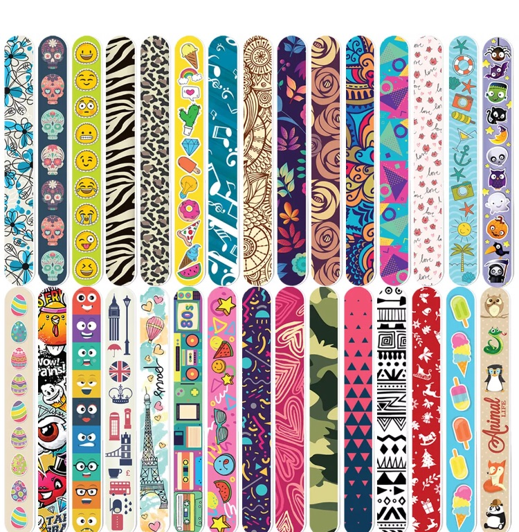 10 * nail files 10 different designs