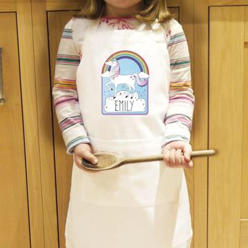 Personalised children's aprons