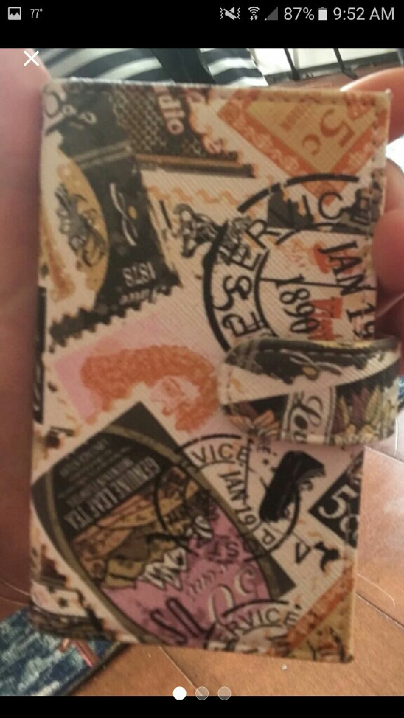 New vintage wallet