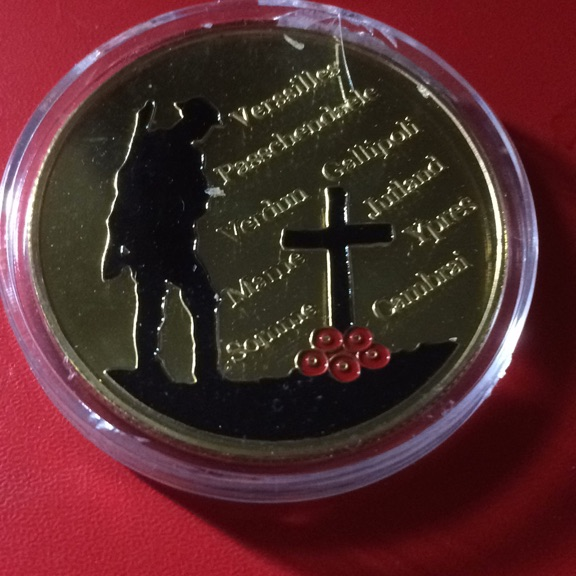 Coin To Commerate Great War
