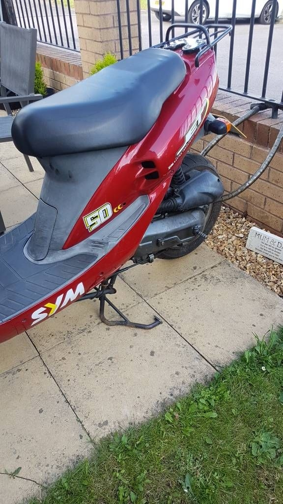 50cc sym scooters