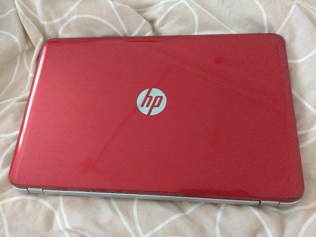 HP Pavilion Laptop (Red in colour)