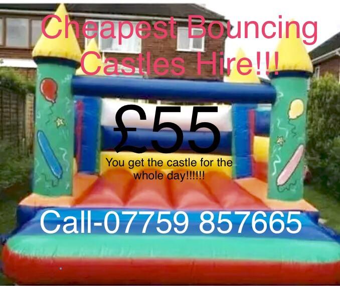 Bouncing castle hire