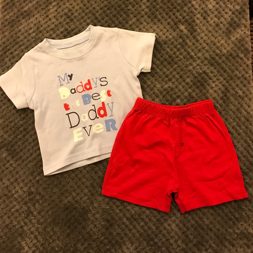 Daddy's the best outfit