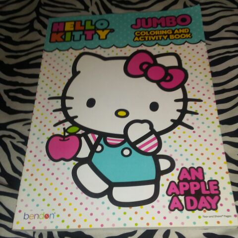 New hello kitty coloring book