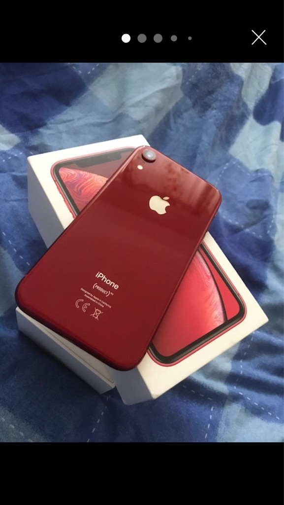 IPhone XR red 128GB unlocked