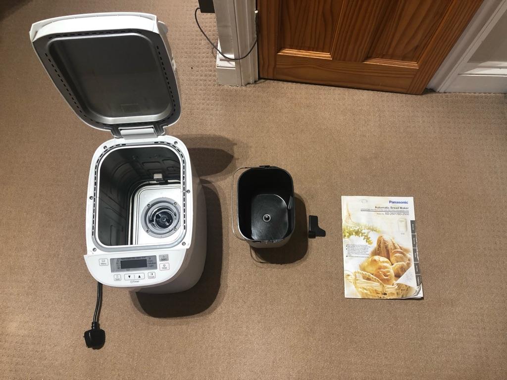 Panasonic SD2500 Bread Maker