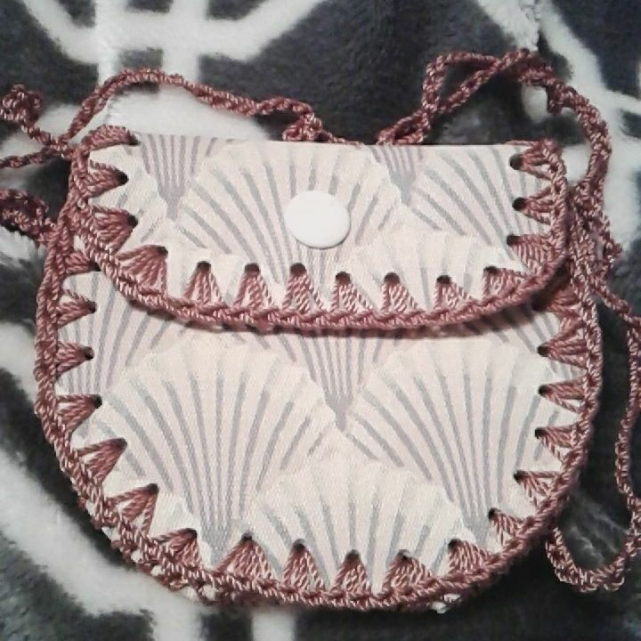 Handmade change purse